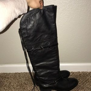 BCBGeneration long knee leather boots